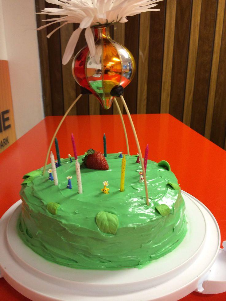 Pikmin 3 Cake Ada S Favorite Things 6 Birthday