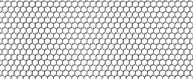 Perforatii hexagonale HV 6-6.7
