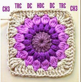 Vamos a tejer un cubrecama con granny, paso a paso. Para empezar, consigue lanas de colores que sean combinables. Aquí ves varios tonos de ...