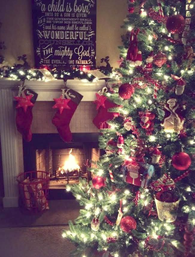 Romeo Christmas Home Tour Below Christmas Tree Shop Dining Table Yet Homestead Heritage Christmas Conce Christmas Tree Shop Xmas Decorations Christmas Tree Box