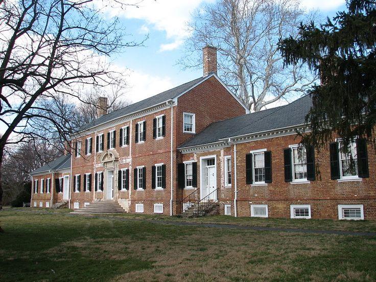 US VA Falmouth Chatham Manor - Battle of Fredericksburg