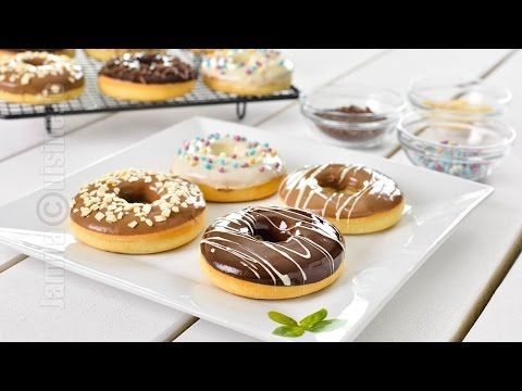 Gogosi la cuptor | Baked Doughnuts (CC Eng Sub) | JamilaCuisine - YouTube