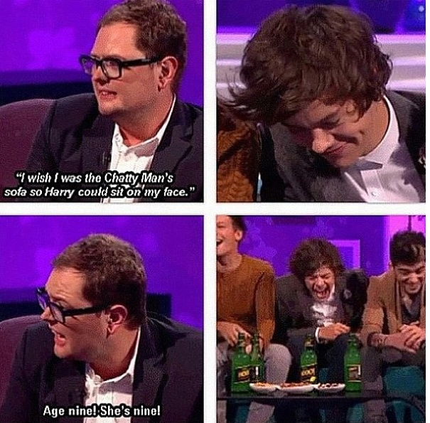Alan Carr interviews are always the best ones (Haza's face in the last pic xx)