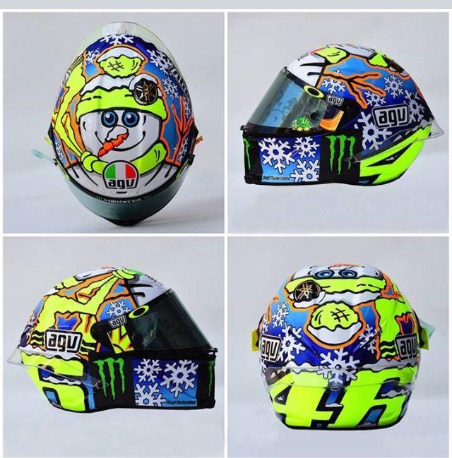 Winter Helmet 2016 Valentino Rossi