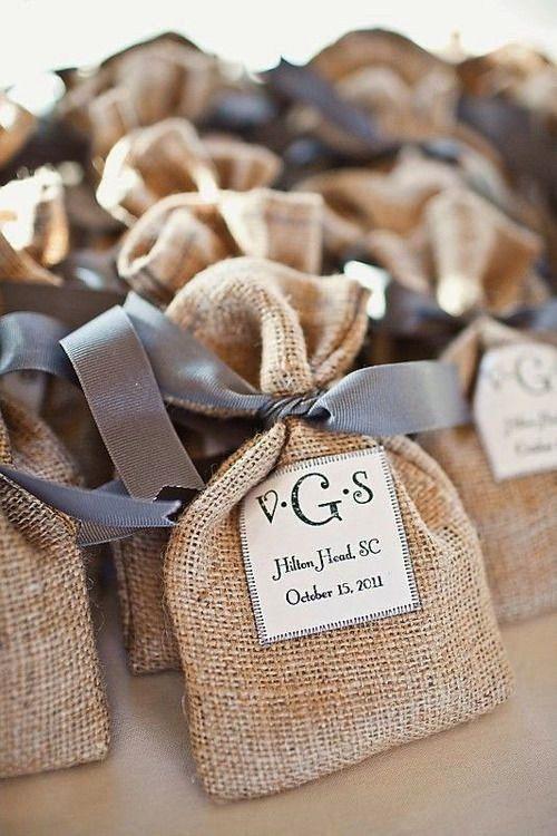 Rustic #wedding #favors