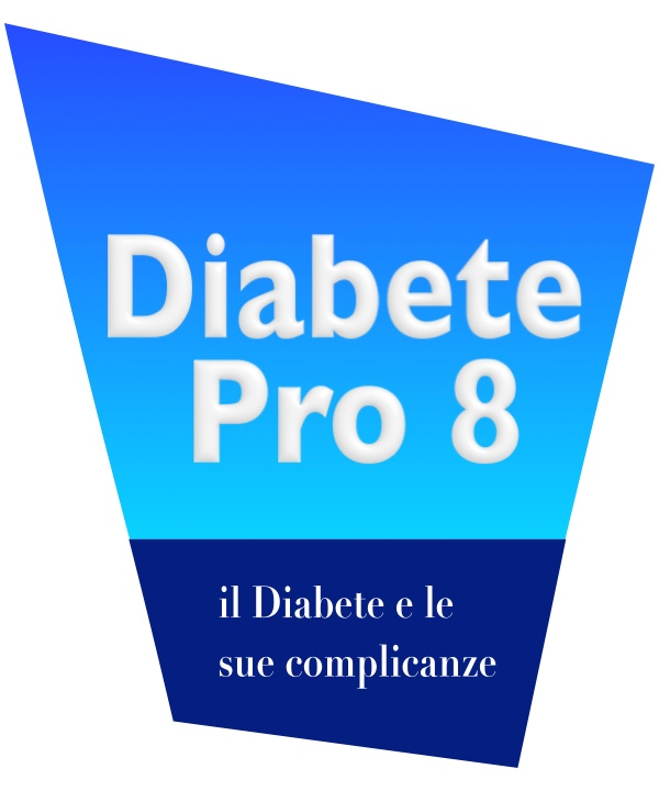 Logo software for the clinic for the treatment of diabetes - top