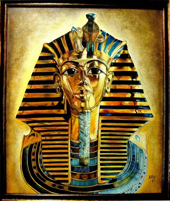 Tutankhamon, via Flickr.