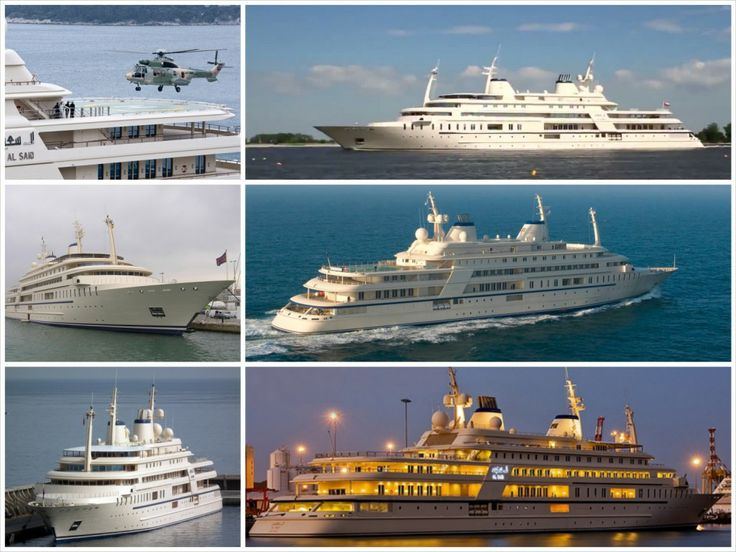 Worlds most expensive yachts - Al Said. See more here: http://everydaytalks.com/expensive-yachts/