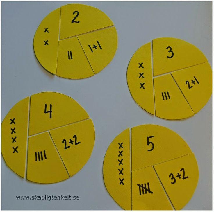 Skapligt Enkelt matematiskt: Antalspussel