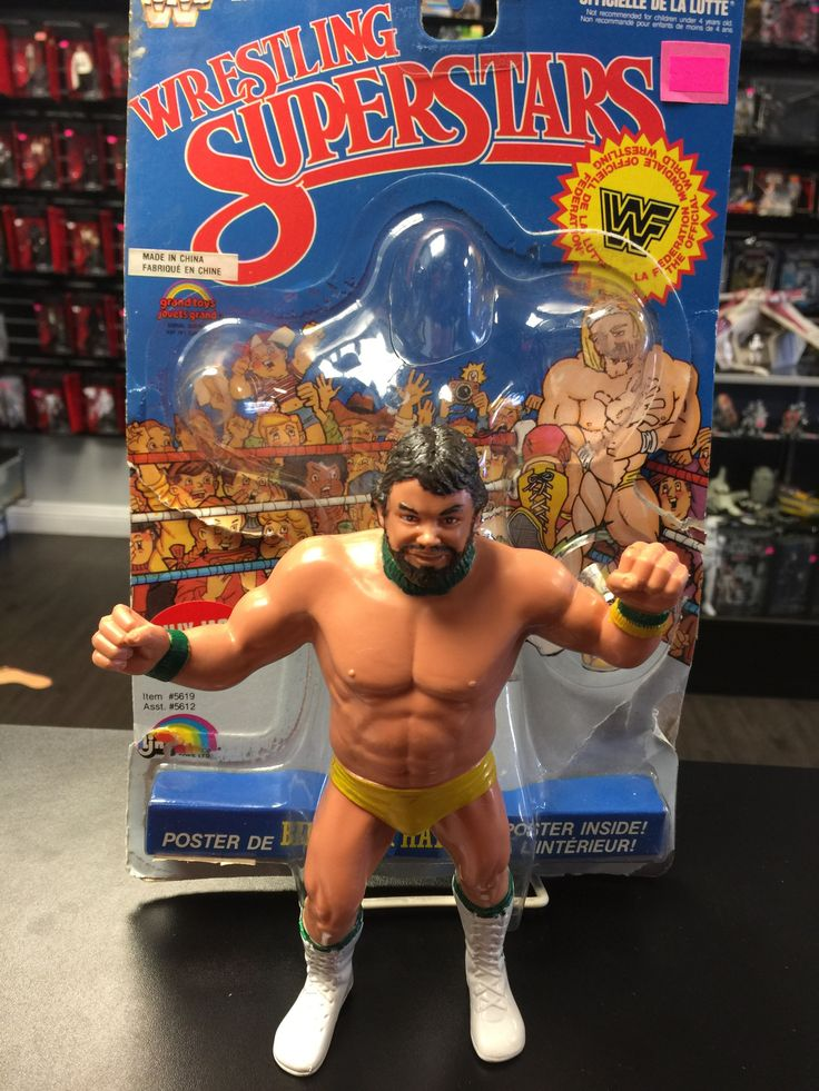 WWF Wrestling Superstars Billy Jack Haynes LJN