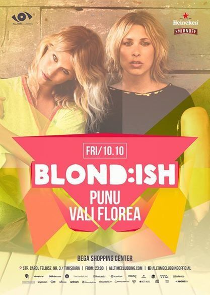 Blond:ish for the first time in Timisoara - Blackout