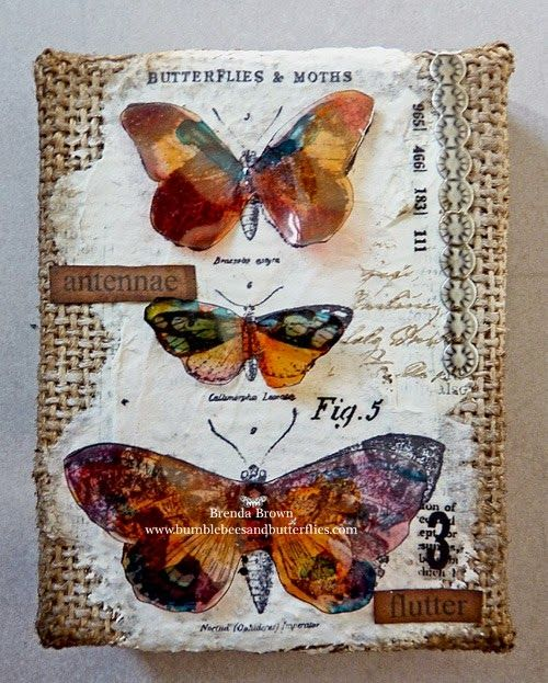 Bumblebees and Butterflies: Things with Wings at A Vintage Journey