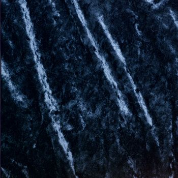 Superb Navy Blue Velvet Table Linen Swatch