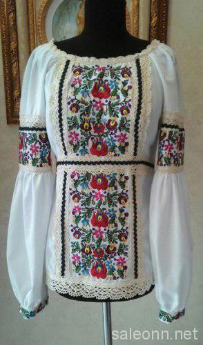 Вышиванки,вышитые платья
