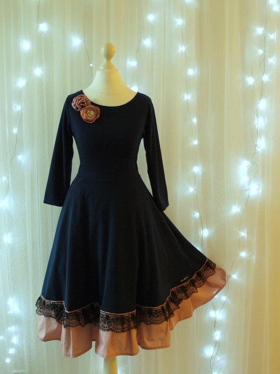 S M L XL XXL Kleid Sienna Kleid Hochzeit von BlackCherrysStore