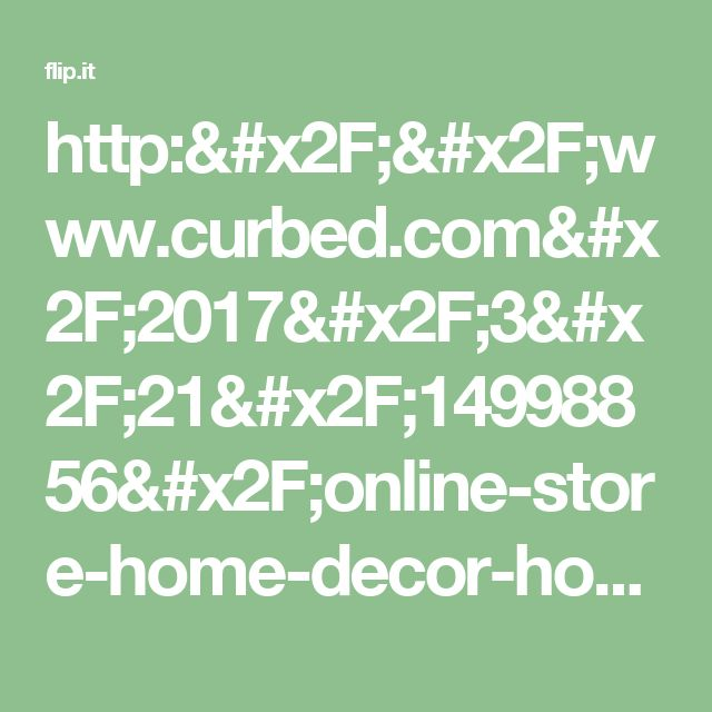 http   www curbed com 2017 3 21. 1000  ideas about Home Goods Online Store on Pinterest   Store