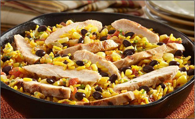 Easy Chicken and Black Bean Skillet | Perdue & Goya -- 1 jar (17.6 oz ...