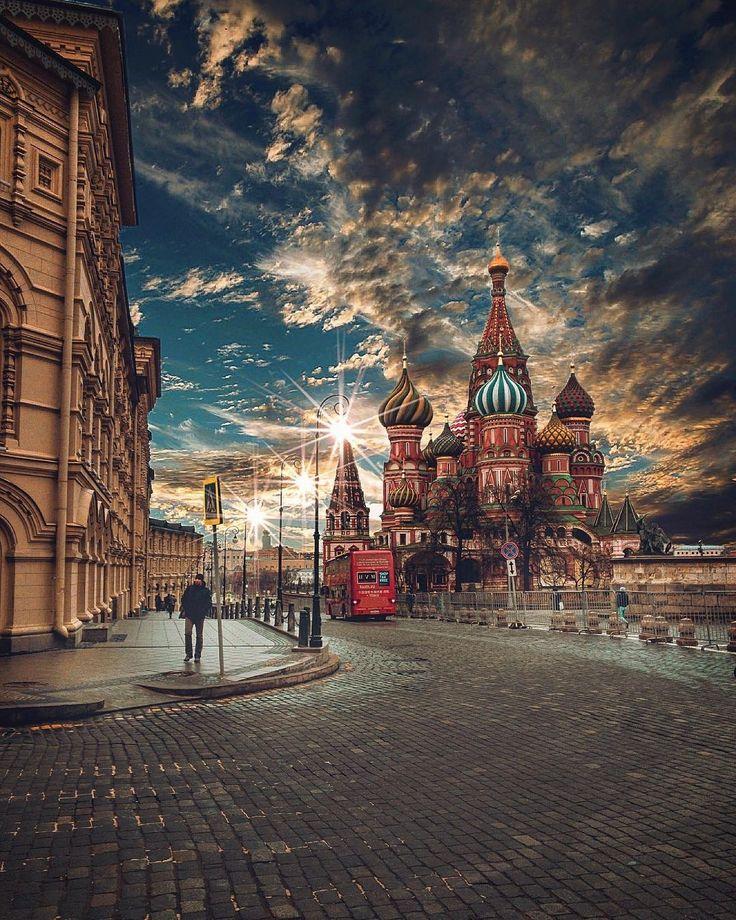 Постеры фото москвы