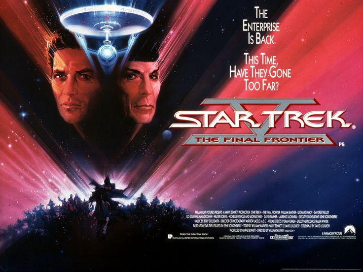 Star Trek V: The Final Frontier (1989) poster