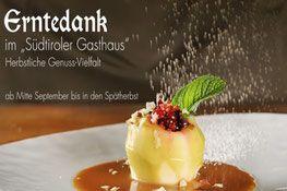 "Erntedank im ""Südtiroler Gasthaus"" - Festa del raccolto nella ""Locanda…"