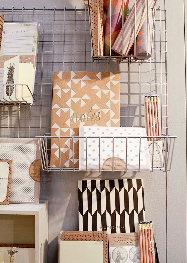 Oh So Beautiful Paper, stationary, notebook, display, storage, wire asked, graphic pattern, repeat