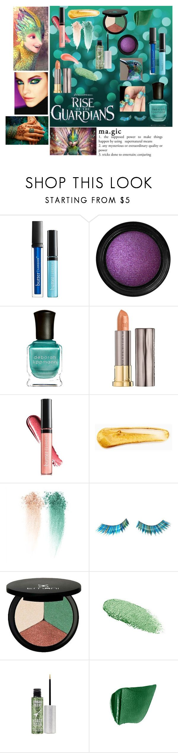 """Rise of the Guardians: Toothiana"" by erintheartbtch ❤ liked on Polyvore featuring beauty, Butter London, Vincent Longo, Deborah Lippmann, Urban Decay, Henri Bendel, NYX, NARS Cosmetics, LORAC and Napoleon Perdis"