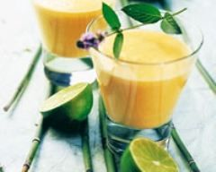 Smoothie coco mangue