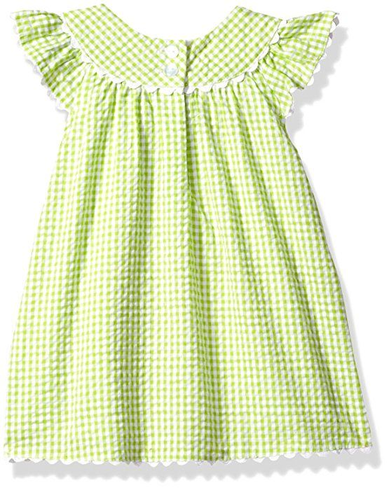 Amazon.com: Bonnie Baby Baby Girls' Bunny Appliqued Seersucker Playwear Set, Caterpillar, 0-3 Months: Clothing