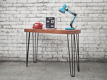 The Holy Funk hairpin console table has been exclusively designed to being an industrial, retro twist on a vintage classic. Browse online now for quick delivery