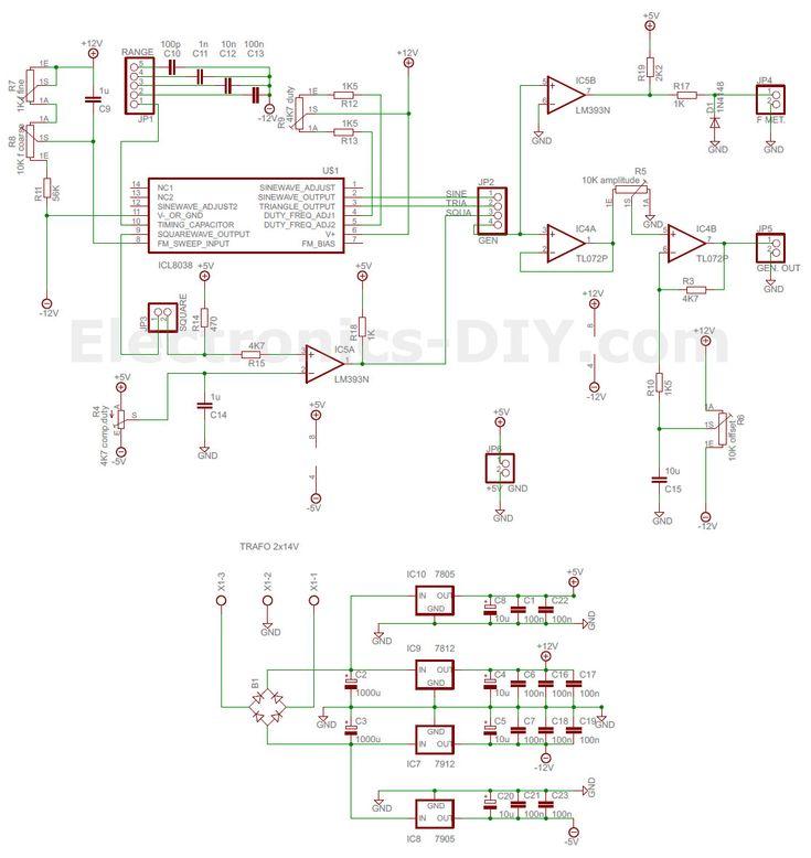 ICL8038 Function Generator