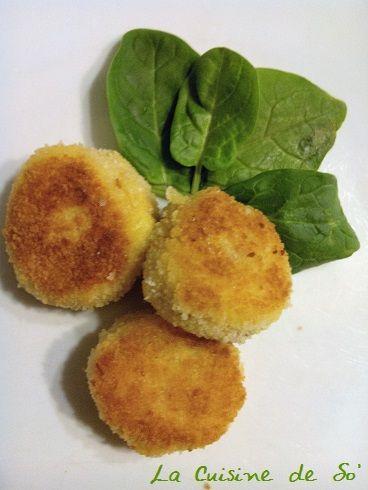 Voilà une idée simple pour terminer les restes de purée de pommes de terre. Bon ok, il faut aussi avoir du jambon, du fromage, de la chapelure, des œufs, de la farine. Mais pour moi, ces ingrédient…