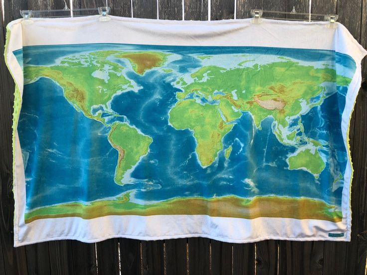 247 best map obsession on etsy images on pinterest world map blanket baby blanket double minky map baby blankie lap shoulder gumiabroncs Gallery