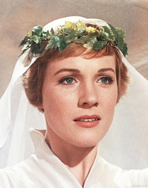 Julie Andrews from the iconic scene of Sound of Music. It inspired me a lot when I was a little child