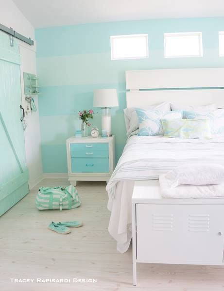 Aqua Blue And White Bedroom best 25+ turquoise bedding ideas on pinterest | teal bedding
