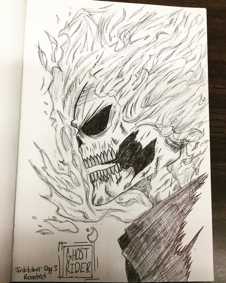Pin by Adam M. on Ghost Rider coloring pages   Ghost rider ...