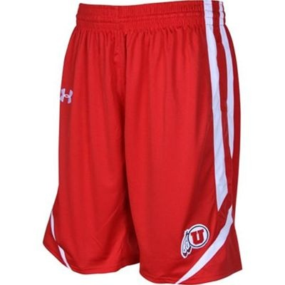 Utah Utes Basketball Shorts (Red)
