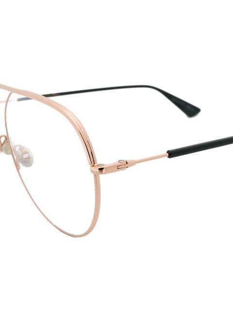 648bffb1233b Dior Eyewear Essence Aviator Glasses - Farfetch