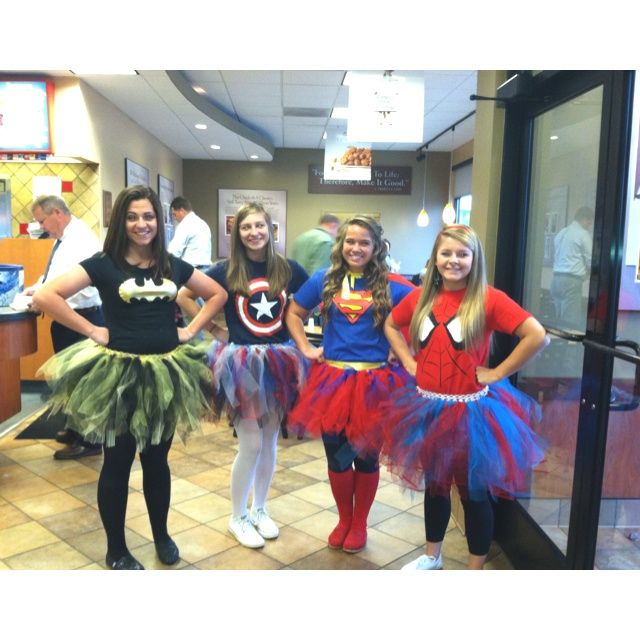 home made teen girl super hero costumes - Easy Homemade Halloween Costumes For Teenage Girl