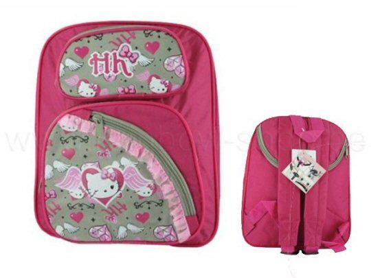 Hello Kitty Kinder Fahrrad Rucksack – Tasche Kinderrucksack od. Sporttasche - happy-e-shopping