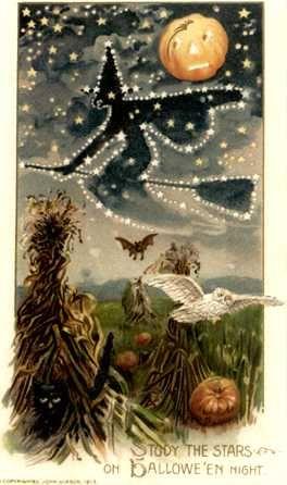 Jim's Victorian Halloween Cards