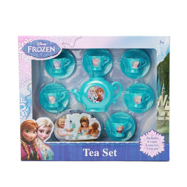 Disney Frozen Tea Set $5 #hollar #disney #frozen #teaset #toys #gifts