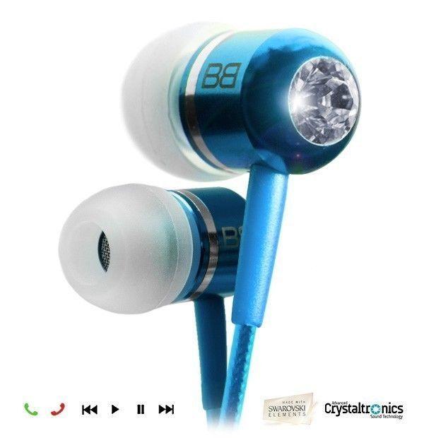Bassbuds LIGHT BLUE Fashion earphones