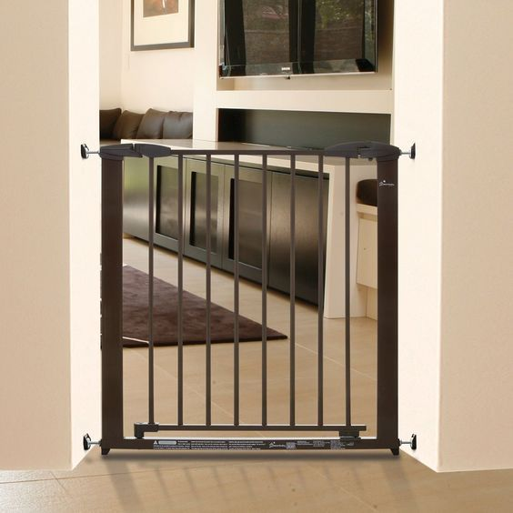 Dreambaby Dawson Auto Close Security Gate with Stay Open Feature and Extension Set >>> Don't get left behind, see this great dog product : Dog gates