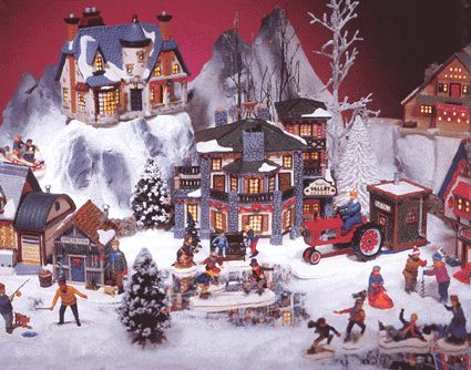lemax+christmas+village | Vail Village scene