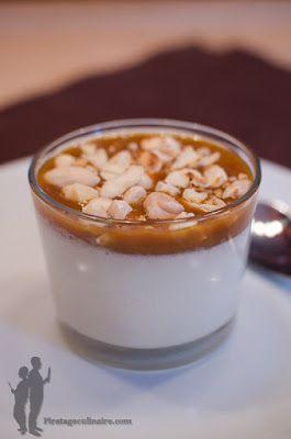 Panna cotta au lait d'amande et au caramel au beurre salé | Piratage Culinaire