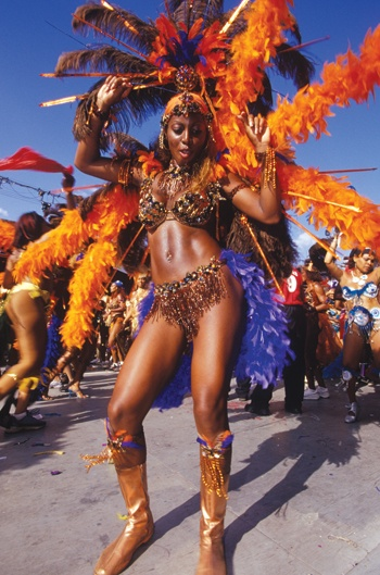 Haiti's famous carnival. It is filled with very vibrant and happy people. Big up to my #haitiangals love em long time