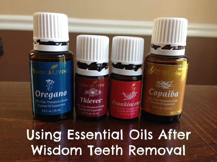 Using essential oils after wisdom teeth removal, on #liberatedmom. #youngliving #essentialoils