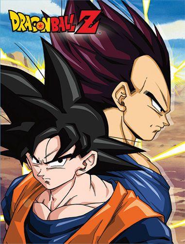 Dragon Ball Z Goku & Vegeta Sublimation Throw Blanket