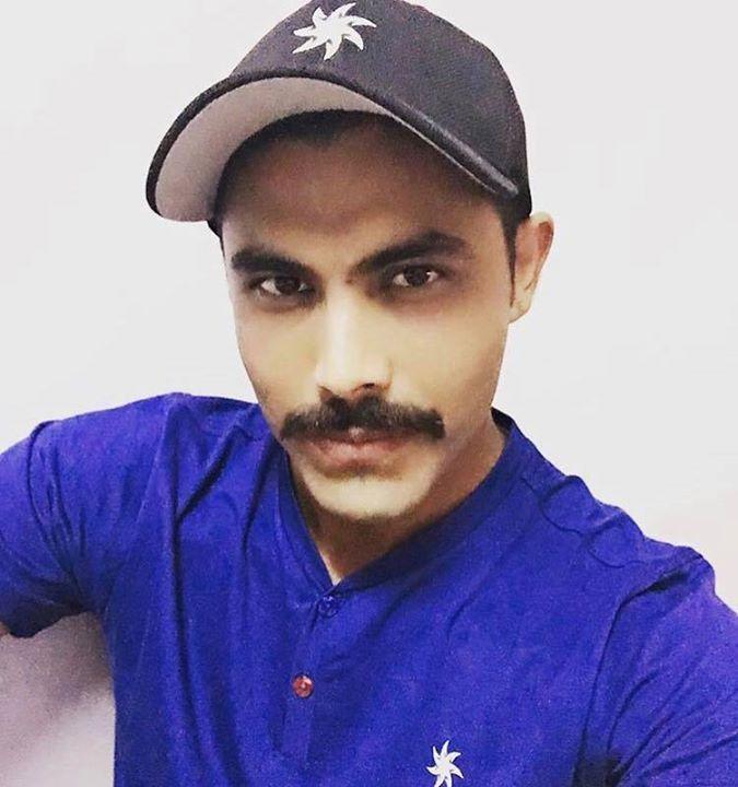Moustache is back for  Ravindra Jadeja - http://ift.tt/1ZZ3e4d