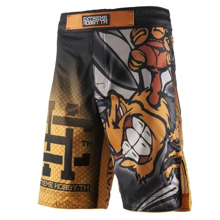 """Angry Wasp"" Grappling Shorts - Extreme Hobby TM"